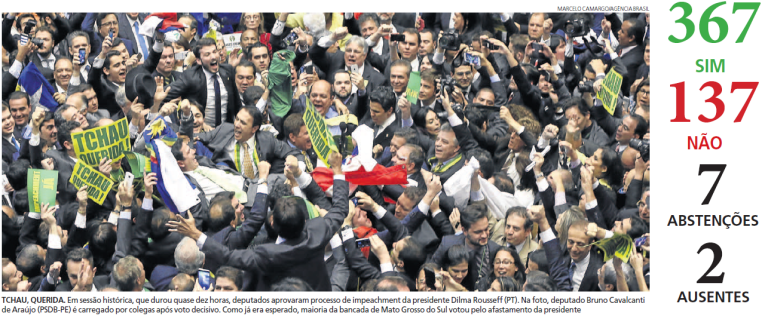impeachment câmara dos deputados