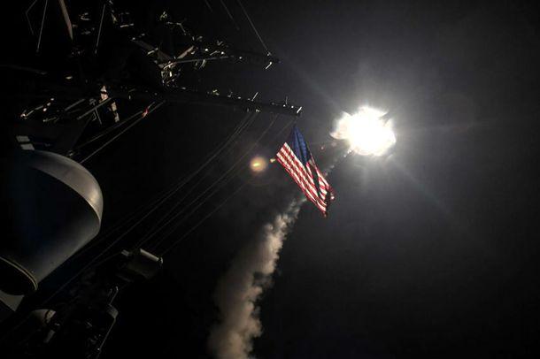ataque dos EUA na Síria
