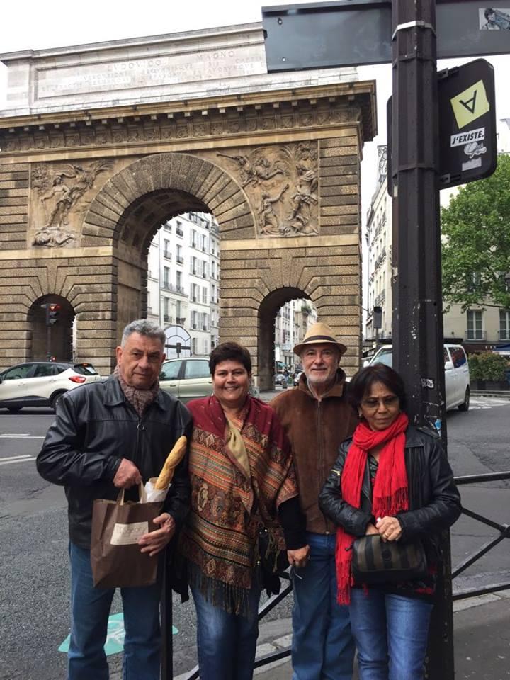 Prof. Marcio Licerre & Cia em Paris - França